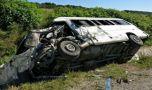 Slovacia: Microbuz cu români lovit de un TIR, pe o autostradă! Cinci conațion…