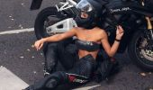 Cea mai sexy motociclistă din lume a murit la numai 22 de ani! Galerie foto