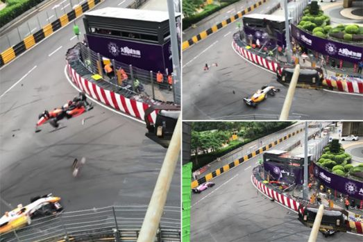 Formula 3. Accident horror la Grand Prix-ul de la Macao. Video și foto în articol