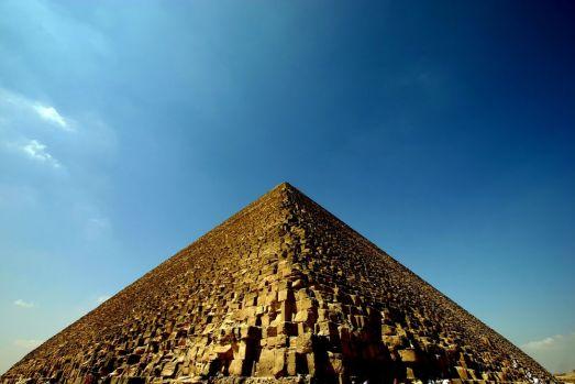 Cercetătorii au descoperit, din întâmplare, sistemul prin care au fost construite piramidele