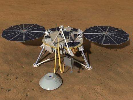 Sonda spaţială InSight a ajuns pe planeta Marte! Prima imagine în articol