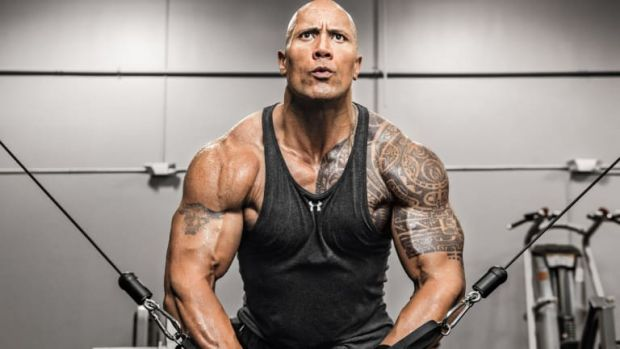 "Dwaine ""The Rock"" Johnson, în tinerețe. O imagine din anii '90 este virală pe internet"