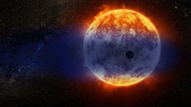 S-a descoperit o planetă care se evaporă cu o viteză record și se poate transforma într-un super-Pământ