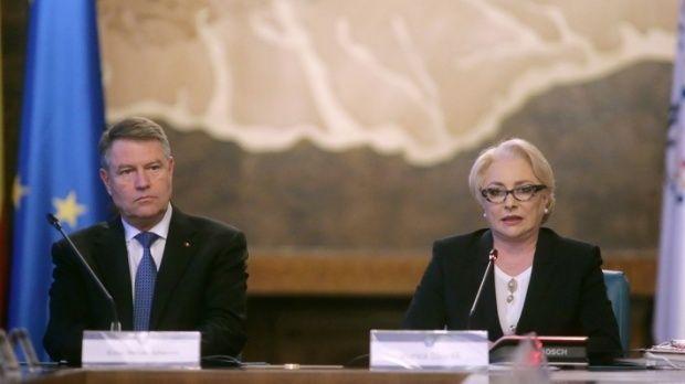 Premierul Dăncilă și președintele Iohannis negociază la Palatul Cotroceni