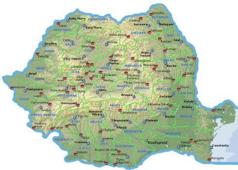 Unde este centrul României? Întrebarea la care 9 din 10 români nu răspund corect