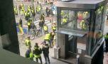 """Belgia. Mișcarea """"vestele galbene"""" s-a extins și la Bruxelles. Pol…"""