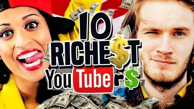 Topul celor mai bine plătiți youtuberi: Un băiețel de 8 ani este pe primul loc în 2018