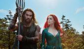 Cascadorii lui Jason Momoa si Amber Heard din Aquaman seamănă perfect cu actorii! Foto în articol