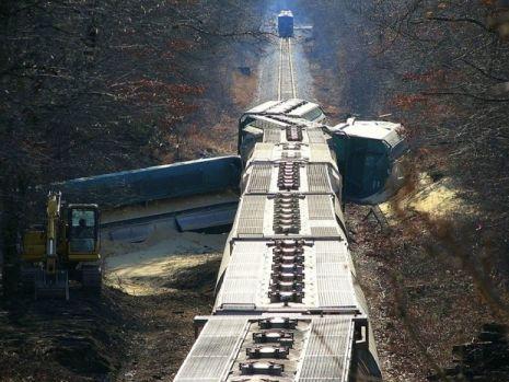 Danemarca. Șase persoane au murit într-un accident feroviar pe un pod