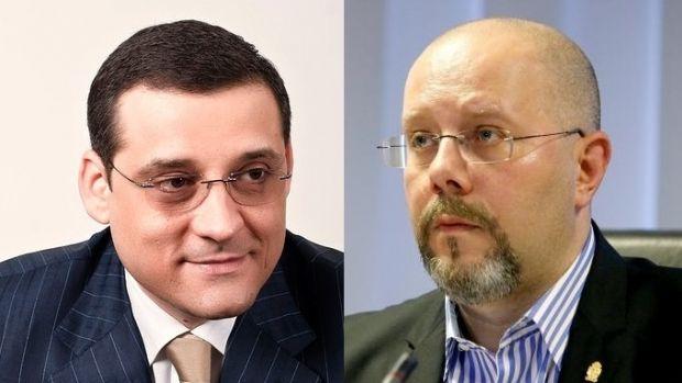 Scandal la Primăria Capitalei. Viceprimarul Capitalei Aurelian Bădulescu și șeful PSD București, Gabriel Mutu, s-au bătut în interiorul instituției