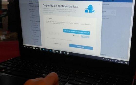 Român condamnat pentru că i-a spart iubitei contul de Facebook