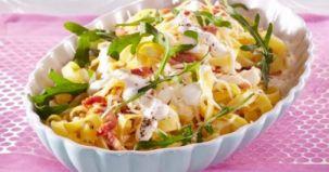salata calda paste, reteta culinara, ingrediente, mod de preparare
