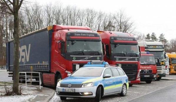 Germania. Șofer român de TIR, găsit mort în cabină. Era căutat de 3 zile