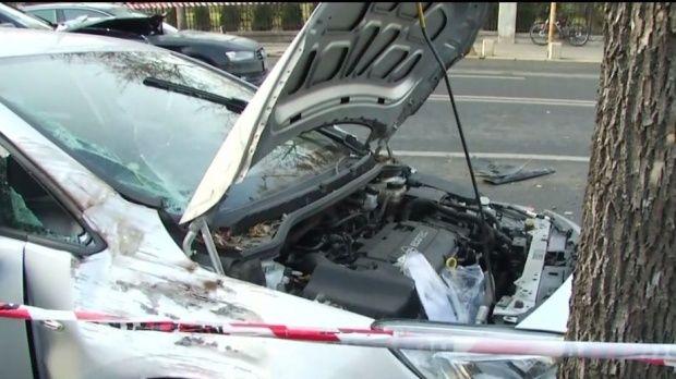 Arad. O persoană a murit și alte două au fost rănite în urma unui grav accident rutier