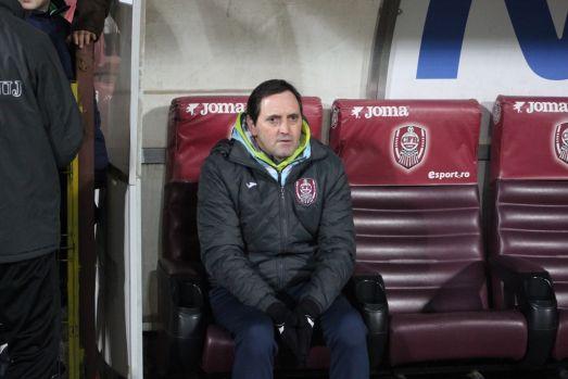 CFR Cluj s-a despărțit de antrenorul Antonio Conceicao