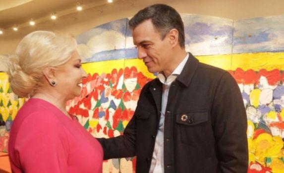 Viorica Dăncilă s-a întâlnit cu premierul Spaniei, Pedro Sanchez. Despre ce au discutat cei doi