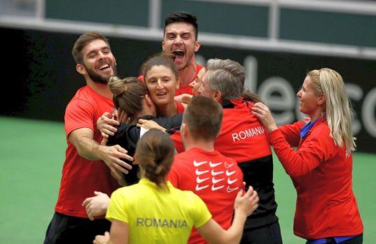 Fed Cup. România învinge Cehia, campioana en-titre, și se califică în semifinale