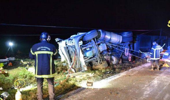 Franța. Un român și-a pierdut viața într-un accident rutier cumplit