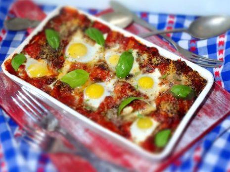 Cum se prepară lasagna cu carne de curcan și ouă de prepeliță. O rețetă delicioasă