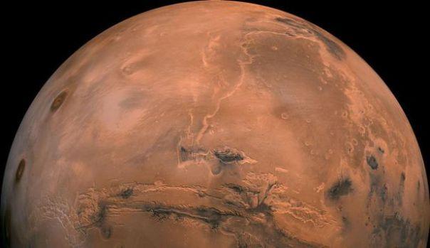 Prima dovadă a sistemului acvatic subteran de pe Marte