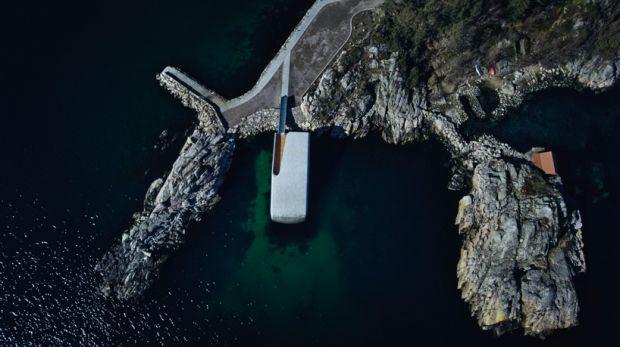 Primul restaurant subacvatic din Europa se deschide astăzi! Galerie foto