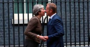 theresa may, scrisoare, amanare, brexit, donald tusk, ue, marea britanie, oficial