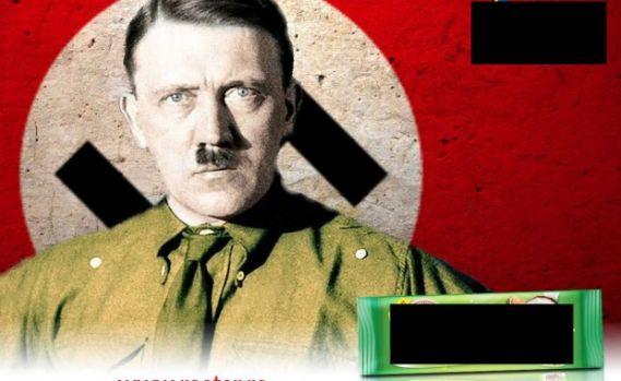 Campanie publicitară controversată în România. Biscuiți promovați cu imaginea lui Hitler!