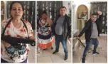 Petrecere țigănească, paradă cu pistoale și arme automate, LIVE pe Facebook…