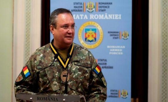 Generalul Nicolae Ciucă, reinstalat ca şef al Statului Major al Apărării