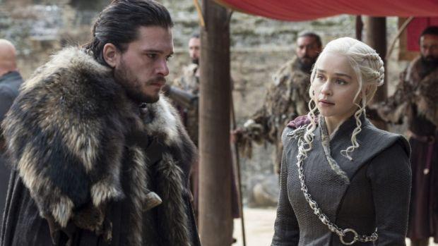 Game of Thrones. Record de audienţă pentru debutul sezonului final