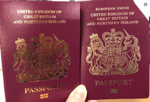 """Marea Britanie. Brexitul nu a avut loc încă, dar pașapoartele sunt eliberate fără eticheta """"Uniunea Europeană"""""""