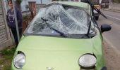Constanța. Un șofer mort de beat a făcut prăpăd în fața unei secții de Poliție. Video