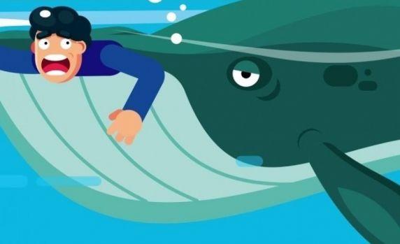Ar putea un om înghițit de viu să supraviețuiască în interiorul unei balene?