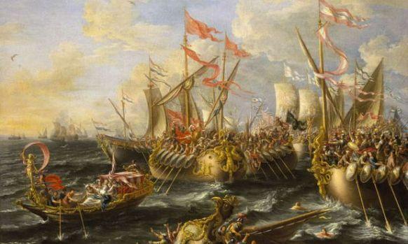 Avantajul care i-a adus victoria lui Octavian în bătălia de la Actium