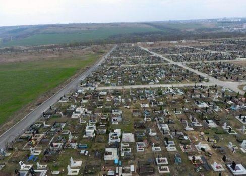 E adevărat că în Republica Moldova există cel mai mare cimitir din Europa? Câte locuri are și cum se vede din avion? Video