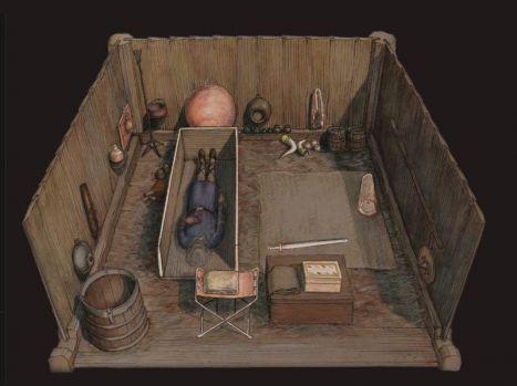 Cum arată o cameră mortuară a unei căpetenii de acum 1.400 de ani! Video