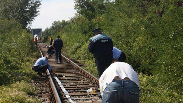 Satu Mare. O fată de 17 ani găsită moartă pe calea ferată