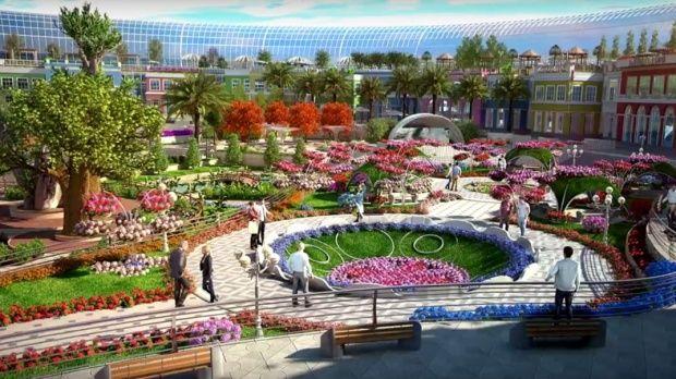 Dubai. Cum va arăta primul mall inspirat de natură! Video