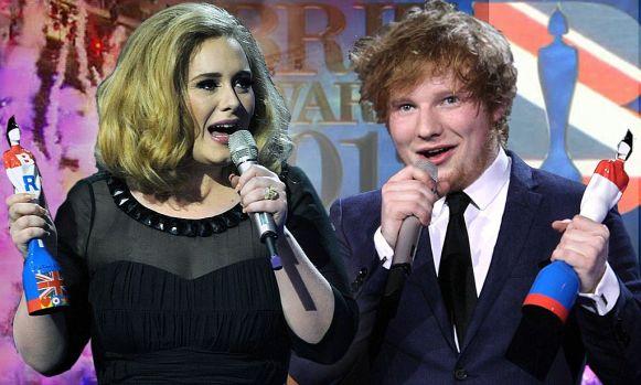 Ed Sheeran şi-a dublat averea şi a devansat-o pe Adele
