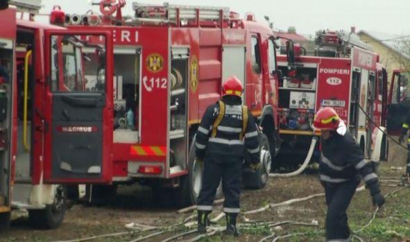 Explozie urmată de un incendiu la fabrica de armament din Băbeni. Numărul victimelor