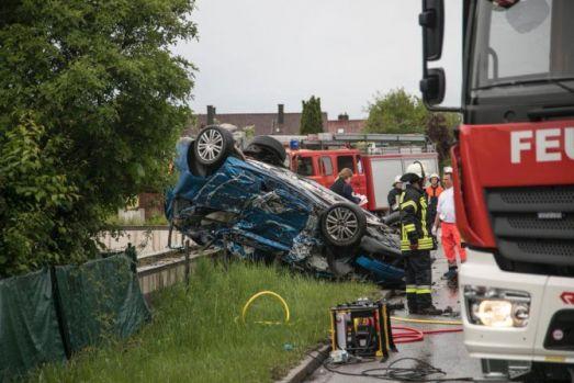 Germania. Șofer român de TIR, implicat într-un accident mortal teribil