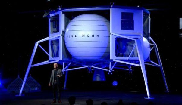 Jeff Bezos, boss-ul Amazon, a prezentat nava care ar duce oameni şi echipamente pe Lună, în 2024. Video