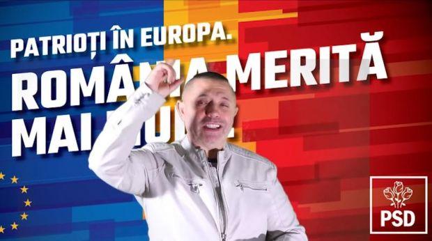 Maneaua lui Guţă dedicată PSD, ştearsă de pe contul inițial de YouTube, în urma unei reclamații