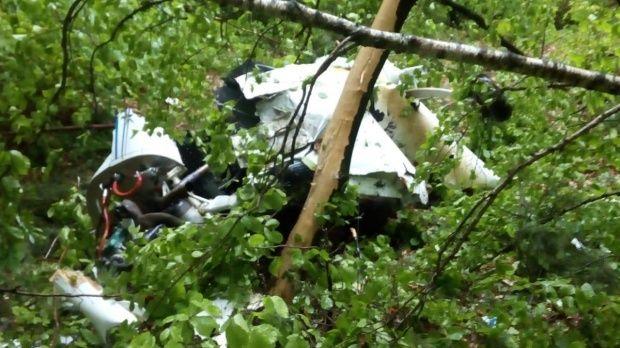 Avion prăbușit în județul Buzău! Tragedia aeriană soldată cu doi morți