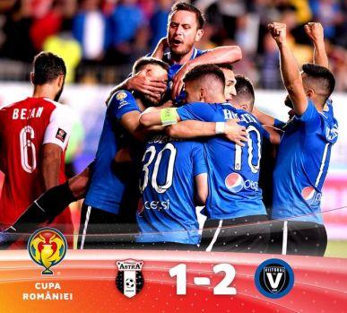 Cupa României. Viitorul Constanța a câștigat în premieră trofeul după 2-1 cu Astra Giurgiu