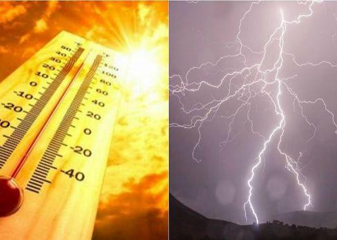 Ploi torențiale și vijelii în jumătate de țară. În sud și sud-est se menține canicula