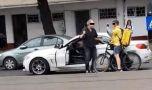 București. Un curier pe bicicletă, snopit în bătaie de șoferul unui bolid d…