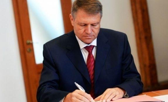 Președintele Klaus Iohannis a semnat decretul privind modificarea Legii educației