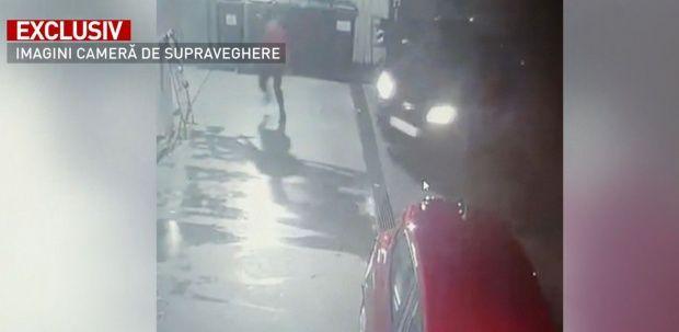 București. Un individ a încercat să omoare casiera unei benzinării! Video