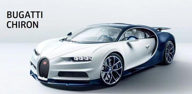 Un super bolid Bugatti Chiron a atins viteza record de 490 km/h! Video
